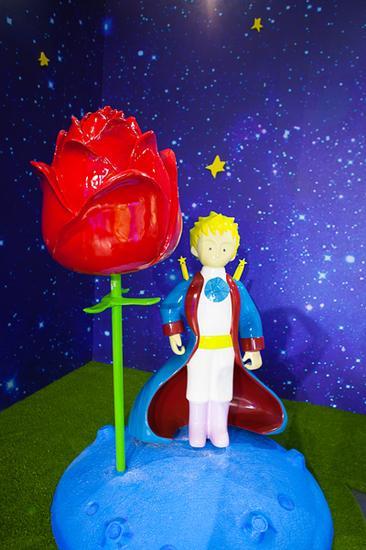 在体验馆里你却可以带着对小王子的爱,踏上寻找小王子的暖心之旅图片