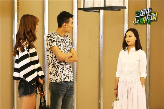 李妍在崔店裏偶遇王冠澎