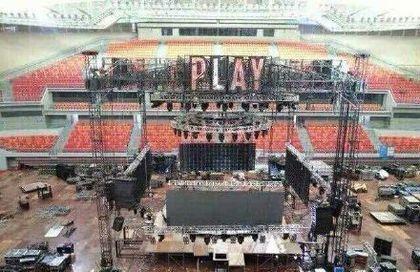 蔡依林世界巡回演唱会南宁站舞台坍塌前样貌