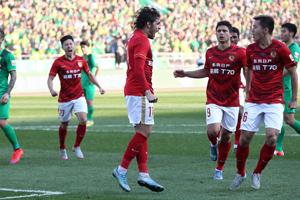中超-高拉特暴力鸟两连击 恒大2-0国安夺五连冠