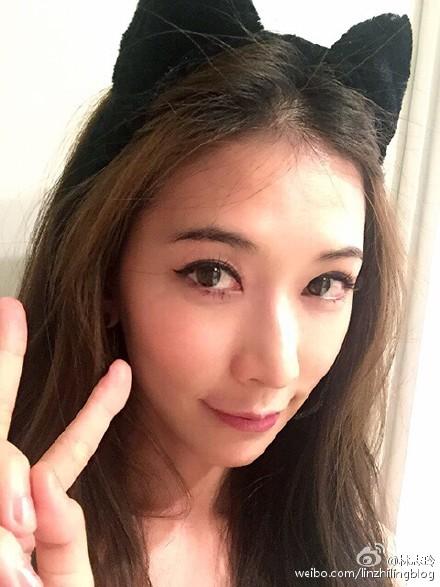 林志玲猫耳朵可爱