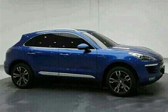 酷似保时捷Macan 众泰全新SUV量产版谍照高清图片