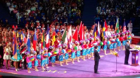 第二届中国国际马戏节开幕 30支全球顶尖马戏团队同台