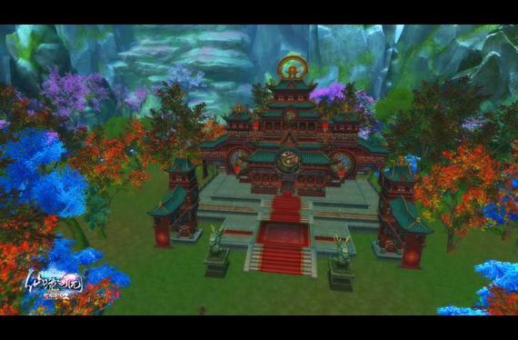 """《完美国际2》""""仙境奇园""""家园截图"""