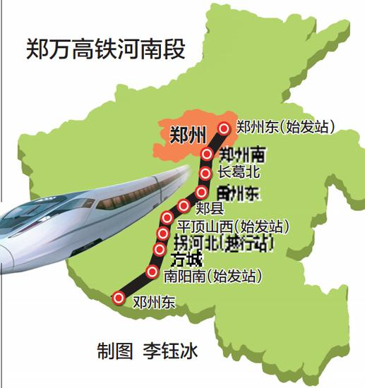 郑万高铁河南段正式开建 郑州与重庆进入热恋期