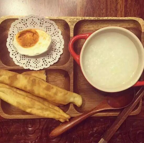 今天是中式早餐