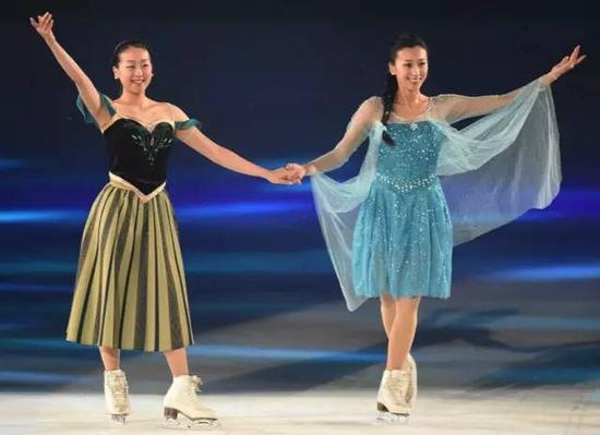 浅田姐妹公演《冰雪奇缘》