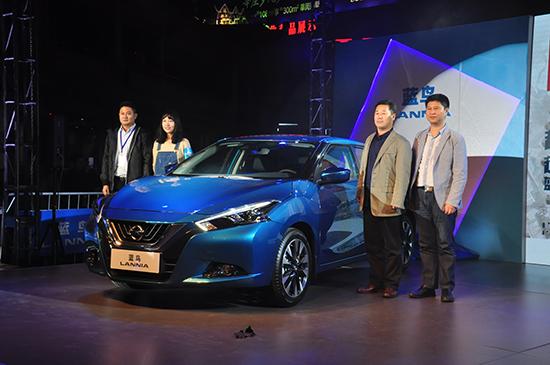 2015上海车展东风日产最新车型蓝鸟 东风日产蓝鸟今日上市 高清图片