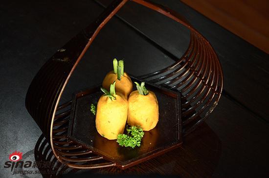 大师制作的莲藕