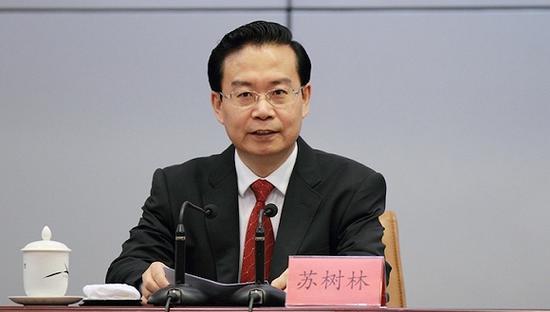 福建省原省长苏树林是落马的唯一正职省长。