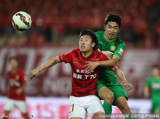 赵和靖本赛季在国安有稳定发挥