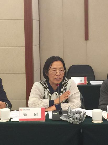 中国社会科学院社会政策研究中心副主任 杨团