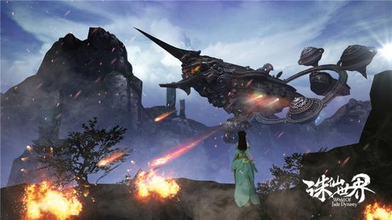 1.仙舰加入三栖战斗