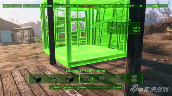 《辐射4》定居点建造