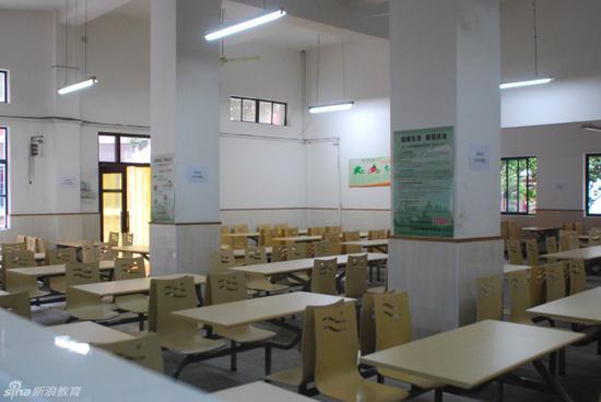 学校食堂内景