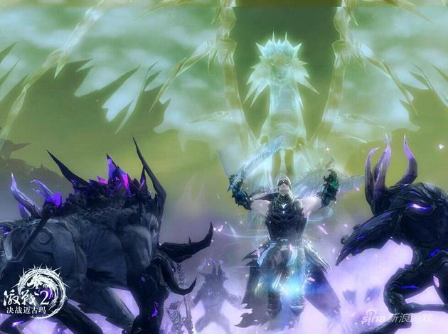 魂武者传奇巨龙姿态
