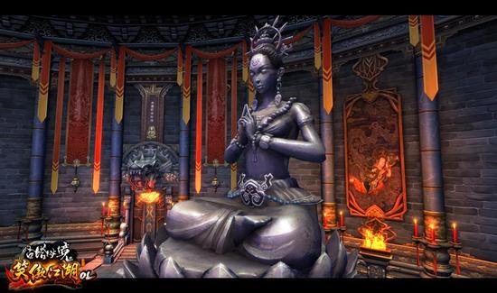 图6. 古塔秘境守护雕像