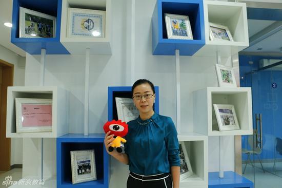 上海交通大学国际教育部发展办公室主任&A—level课程中心主任慎安娜