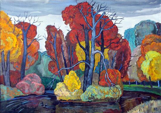 《秋天的小岛》 普施宁娜