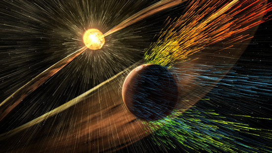 火星大气演化历程:形成后不久便无法存活生命