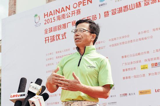 珠海翠湖高尔夫球会总经理夏宗明