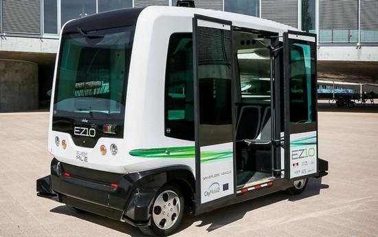 谷歌汽車沒來 這些無人駕駛巴士已經悄悄上路了