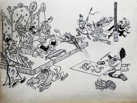 《神笔马良》插图