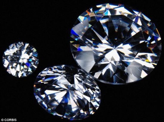 钻石没你想的那么稀有:蕴含地球深处形成简单(图)