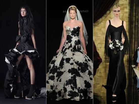 彩色婚纱礼服让婚纱缤纷起来吧