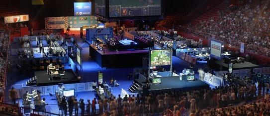电竞比赛风靡全球