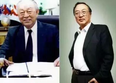 柳传志与父亲柳谷书(图片来源于网络)