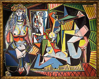 毕加索 《阿尔及尔的女人(O版)》
