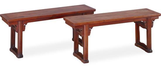 桌子造型立面矢量图