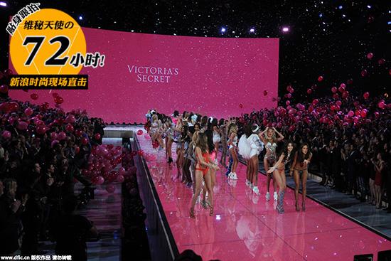 """2015""""维多利亚的秘密时尚秀"""" 二十周年大秀 高清720P 新鲜送上"""