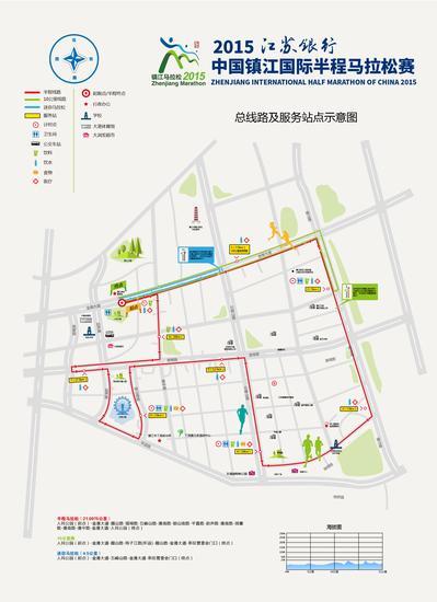 镇江马拉松路线及奖牌样式公布 省内年度最后一个