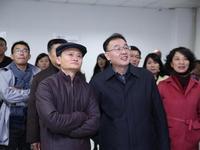 马云陪同国家邮政局局长马军胜探班双11物流