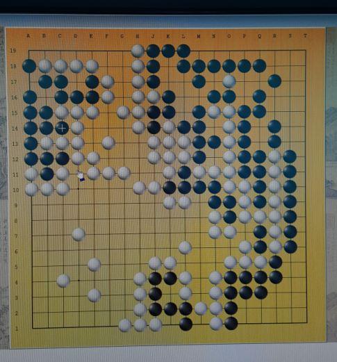 核算机围棋赛棋谱