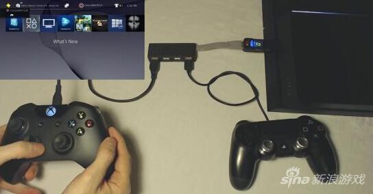 PS4走能用XB1精英手柄!黑科技配件帮助你_电