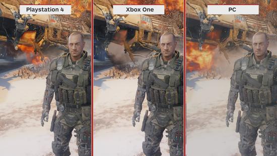 《使命召唤12》三大平台画面对比