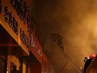 哈尔滨仓库大火着了4个小时 烧了1700多平米