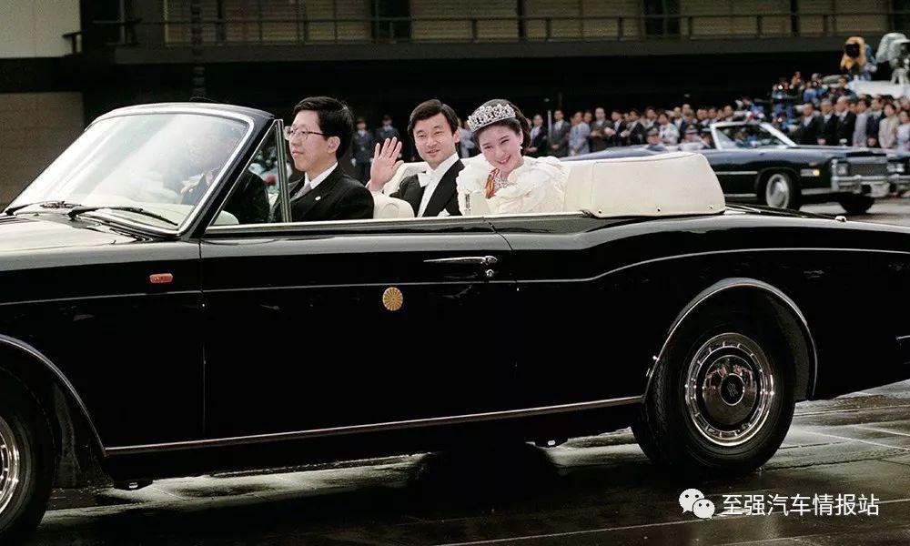 丰田世纪开篷版十月登场:亮相日本新天皇首次巡游