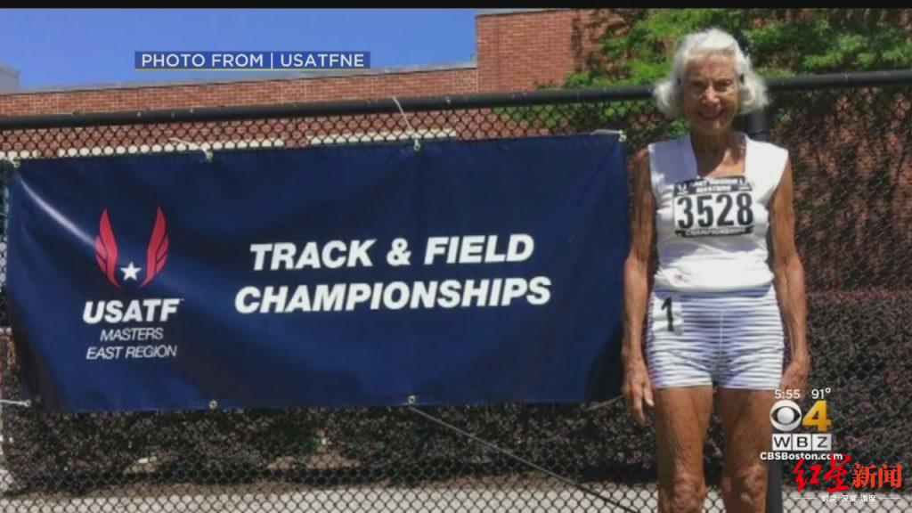 打破世界纪录!这个91岁的太婆为何能跑那么快?