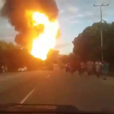 委内瑞拉米兰达,德尔图伊PDSVA天然气加气厂发生爆炸。
