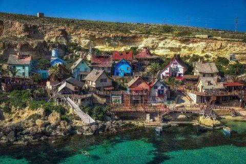 这个村庄因大力水手真人版电影而走红,评为2018年必去的地方之一