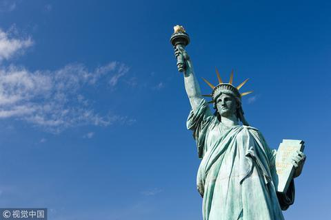 自由女神像附近起火 事故原因疑与博物馆施工有关