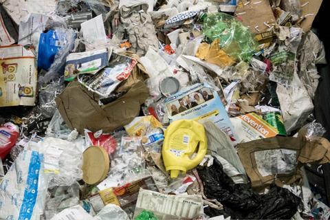 美国废品资料图。(图:视觉中国)