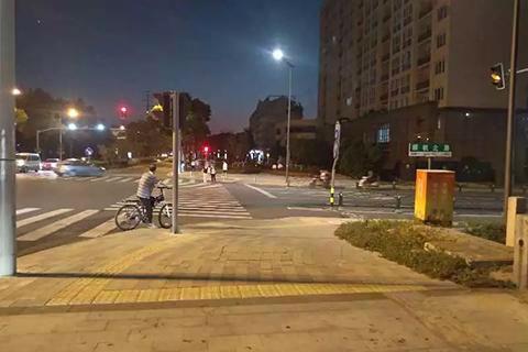 8月29日,曾事发的街口