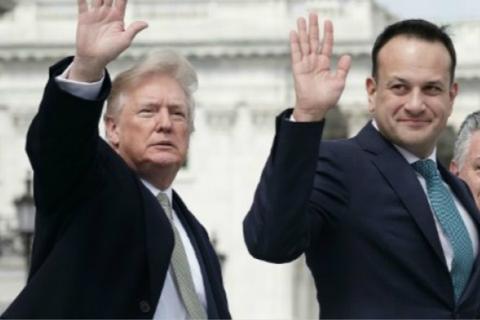 躲抗议?特朗普突然取消访问 爱尔兰政府松了口气