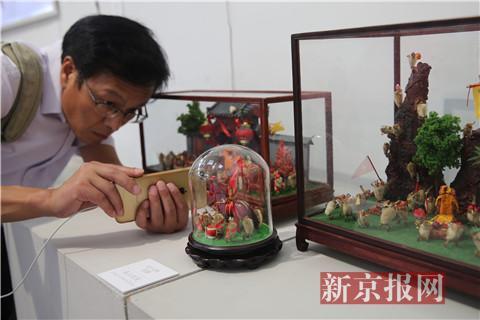东城12类民间手工艺作品亮相中国美术馆
