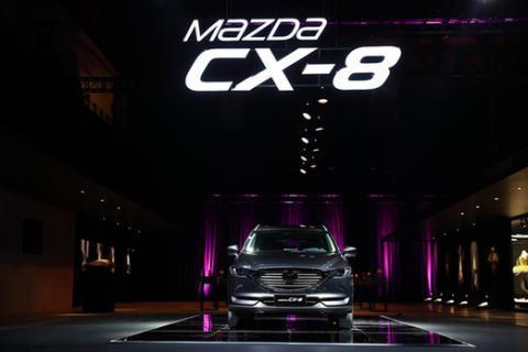 """不惧车市""""三九寒"""" 马自达CX-8盯上7座SUV市场"""